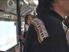 Japanese sexual harassment on bus PT1 More On hdmilfcam
