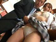 Asian amateur in bikini and maid uniform