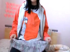 XXX amateur Japanese webcam ass masturbation
