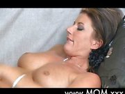 Curious MILF first lesbian experience