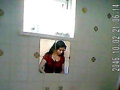 Indian lady bathroom spy