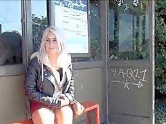 Blonde amateur babe Lissas public