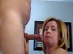 Older Mom Blowjob