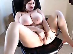 Webcam Girl Has Amazing Tits