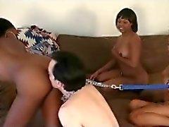Black Girl Masters and White Boy Slaves 2