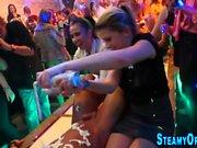 Party teens sucking dicks