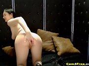 Solo Pussy Masturbation of Horny Webcam Babe
