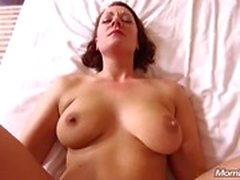 All Natural MILF enjoys Anal Fucking POV