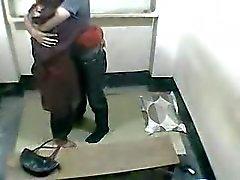 office couple having a good fuck