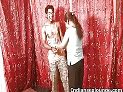 Amateu Indians Kajal and Akshay