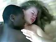 Black guy makes blonde teen
