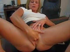 Slave Wife spreading pussy & whipped