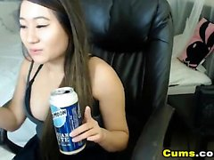 Asian Babe Likes To Masturbate