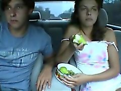 Amateur car sex Pearline from 1fuckdatecom