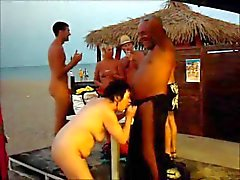Cap d Agde am Strand