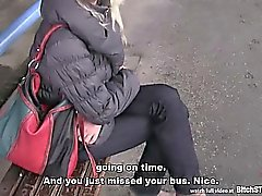 Bitch STOP - Czech MILF picked up at the bus station
