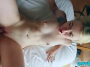 Date Slam - Sexy blonde with big ass fucked on 1st date