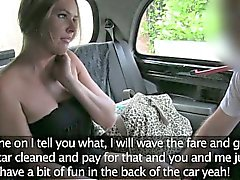 Amateur slut ripped at the back seat by nympho driver