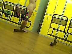 pregnant - Hidden camera in the dressing room