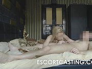 Blonde College Teen Escorting and Ass Fucked On Hidden Cam