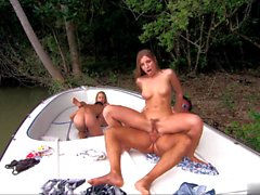 Jessica Moore and Morgan Moon have always enjoyed going out on the boat