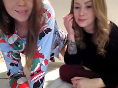 Lesbian Masturbation with Glass Dildos and Pussy Toys