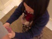 Amateur Asian girl got her twat smashed super hard uncensored