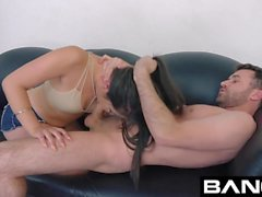 BANG Casting: Amateur Drea Diamond Facialized & Deepthroated