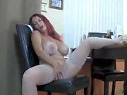 British Huge Tits Mature Redhead