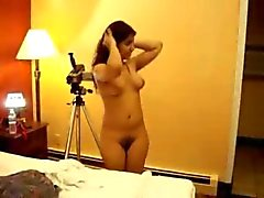 Desi Cutie Getting Ready For Shooting After Shower