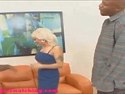 Swingers black dude lets white guy fuck his wife