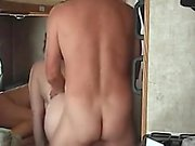 Swinger sex at the train