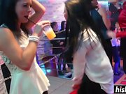 Sexy sluts get bonked at the club