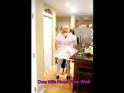 Sissy Maid Welcomes Home Domwife