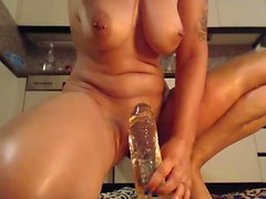 27min resting on dildo squirting that is large