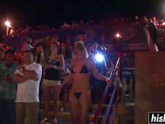 Awesome teens like to strip in public