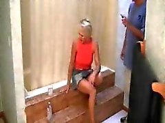 Hot Blonde MILF Banged All Around The Home