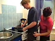 Stepmom seduce her boy in kitchen PT1 More On hdmilfcam