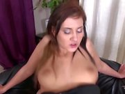 Crazy hardcore bitch Gabriela Daniels scream more to skinny fucker