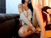 Monster boobs on webcam