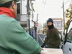 Stunning Japanese wife with perfect boobs delivers a fabulo