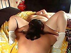 Bbw anna and amanda lesbian sex