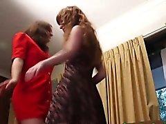 Amateur lesbians pissing outdoors