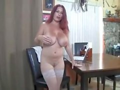 British Huge Tits Mature Redhead