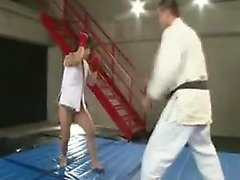 Ravishing Oriental babe gets her cunt devoured and pounded