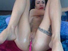 Muslim Arab Egypt Wife Anal Masturbation On Webcam