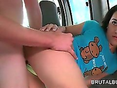 Teen dick starved girl gets fucked hard and deep in the bus