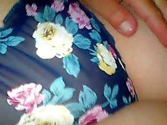 GF wearing nice panties..