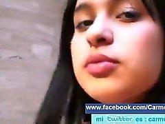 Carmen Analia Apani Kanpa follada por su marido Lucho Navarrete en toda pos