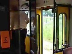 Gigantic Tits MIlking On Bus